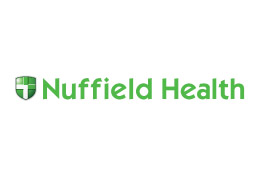 gym advertising nuffield health logo