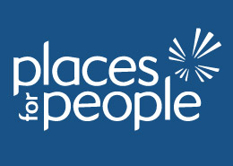 Leisure Centre advertising Places for People Logo