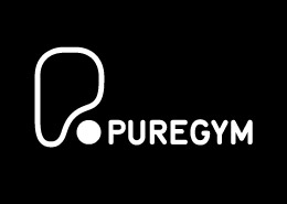 gym advertising pure gym logo