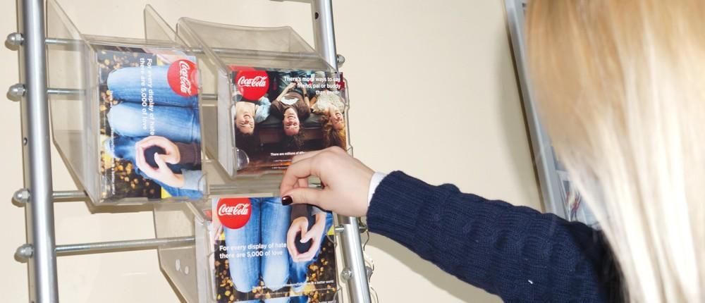 Coca cola ambient in cinema