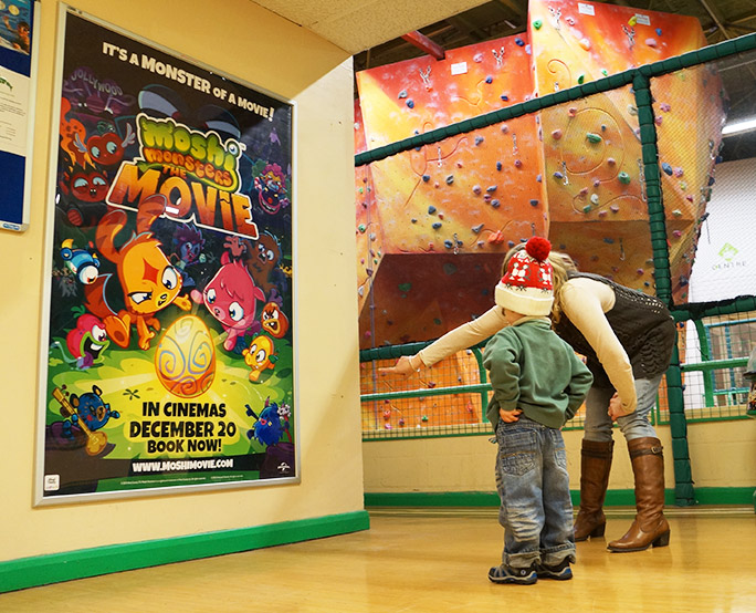 Leisure Centre 6-sheet Moshi Monsters