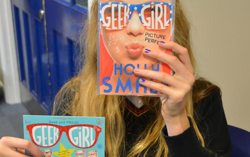 School cards - Geek Girl