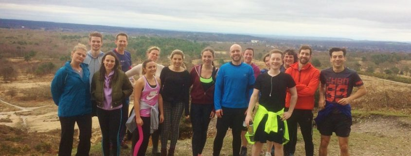 A team picture of the boomerang team doing the 3 peaks challenge