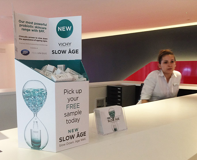 Slow age sampling in health club