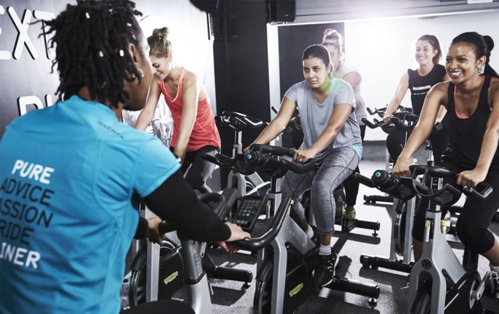 Pure Gym Spin Class