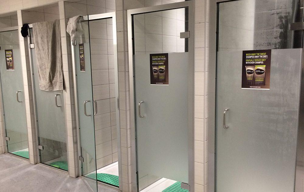 Shower Vinyl Shampoo Gym