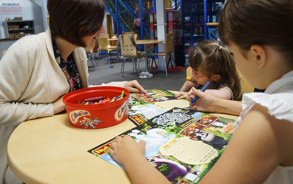 Film Activity Sheet Family Soft Play Centre