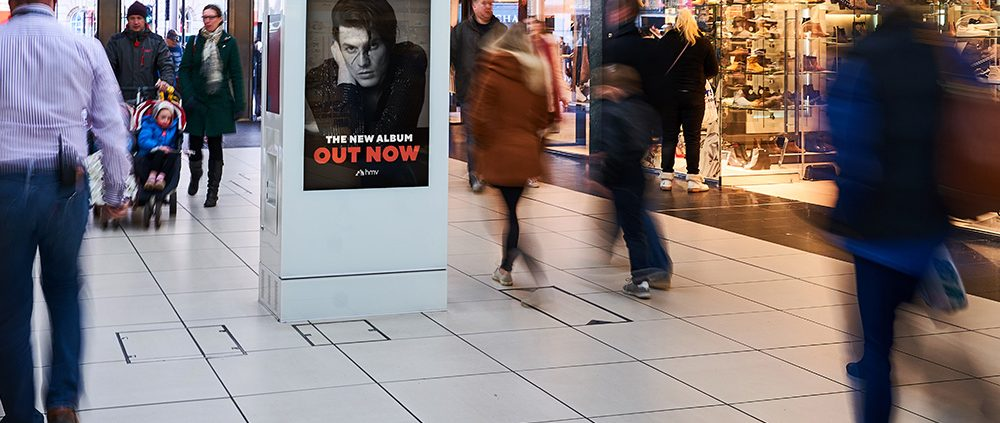 Out of home shopping mall