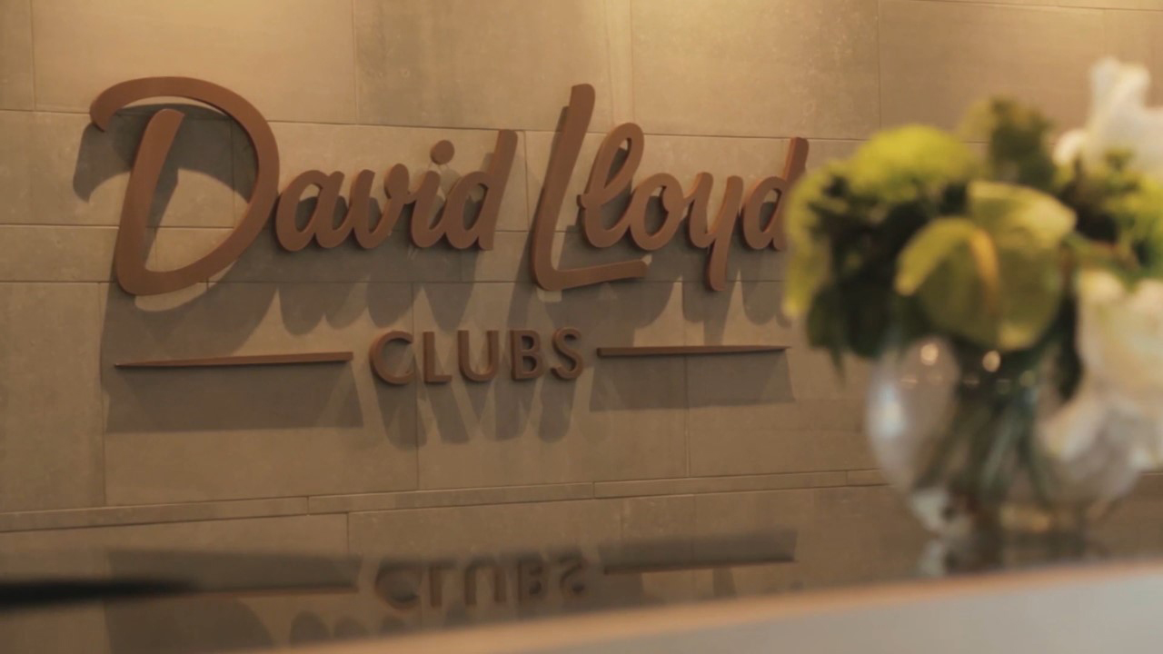 gym advertising in david lloyd video