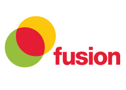 Leisure Centre advertising Fusion Logo