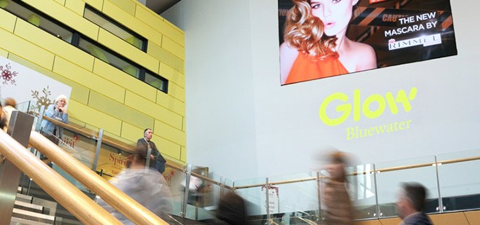 Shopping Mall Digital Screen Bluewater - Rimmel