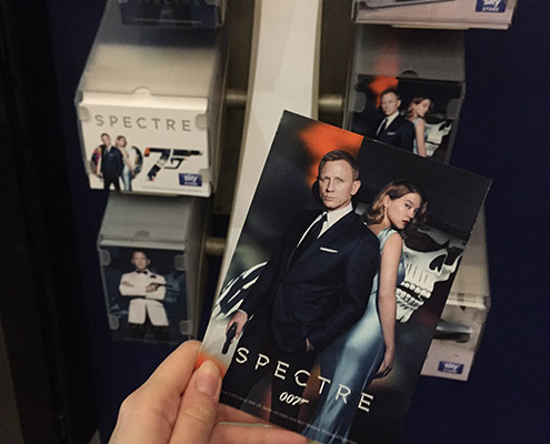 Spectre ambient advertising