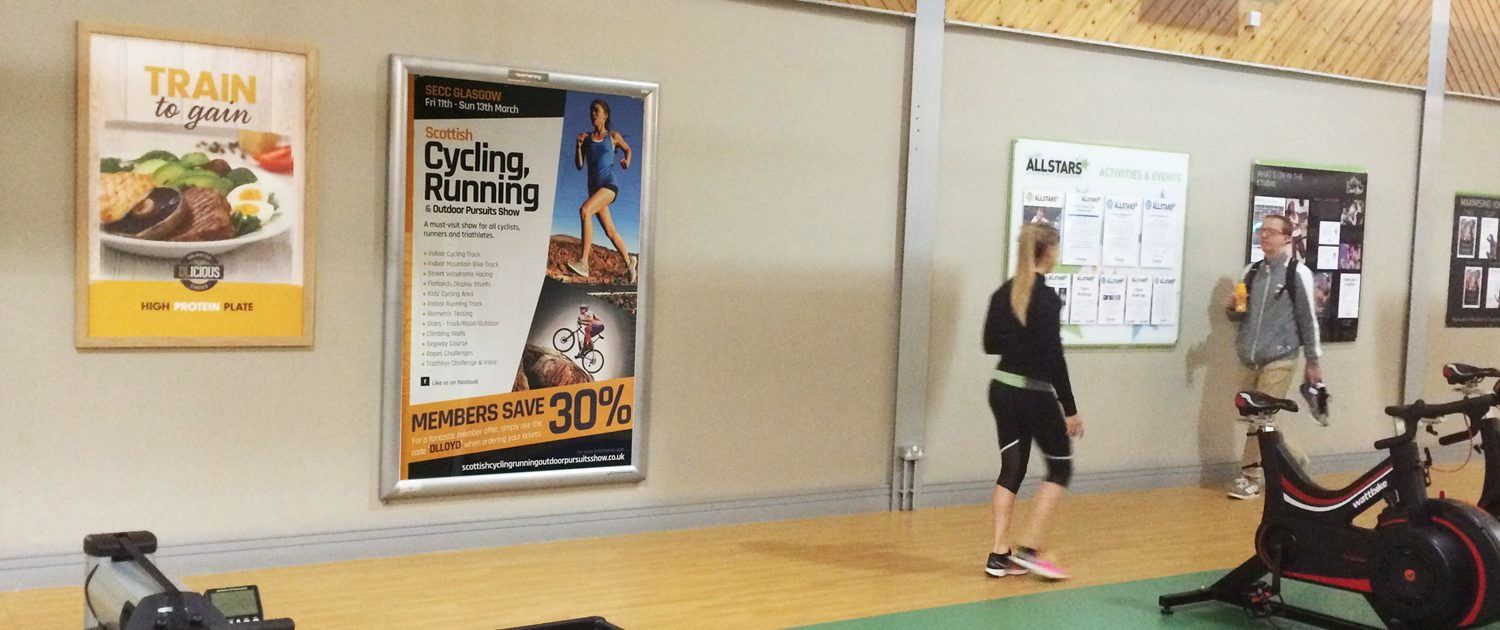 Cycling Event 6-sheet Gym