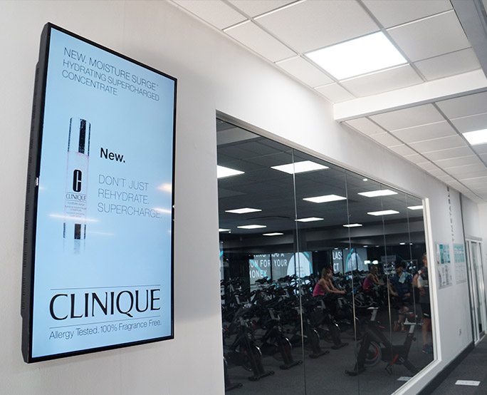 Clinique D6, Health club, Fitness, training bikes