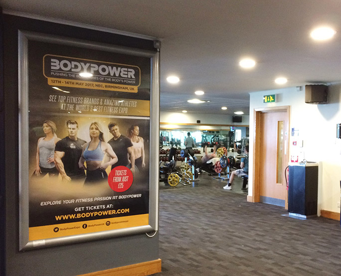 BodyPower 6-sheet Gym