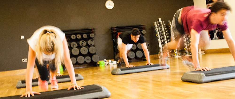 David Lloyd Health Club Studio Class