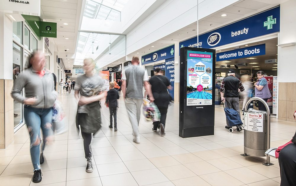 Cumbernauld Advertising Screens Antonine