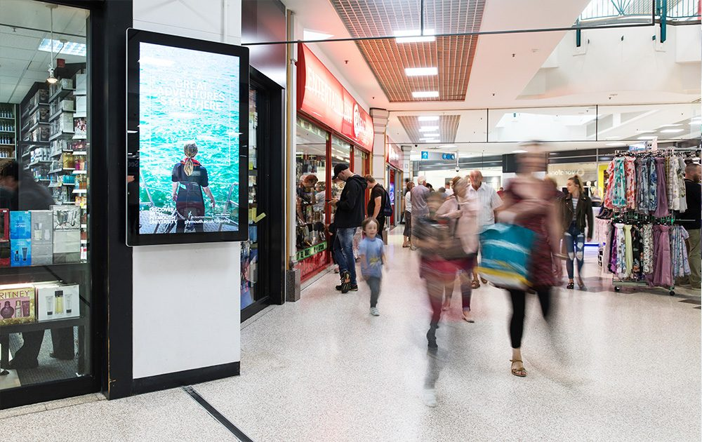 Barnsley Advertising Mall Screen 2
