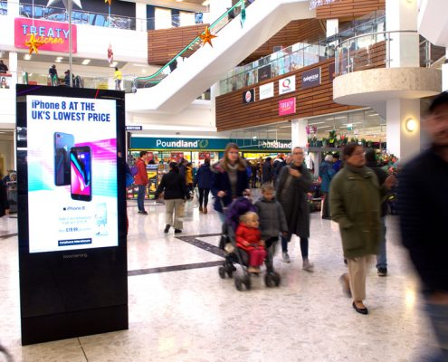Hounslow advertising screen 4